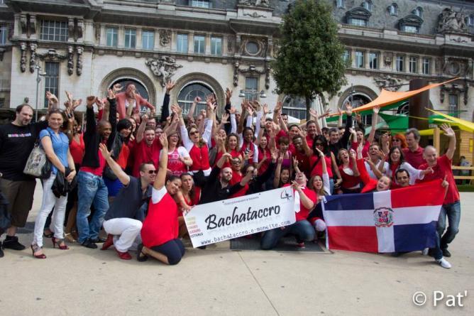 1st Bachata Flash Mob de France