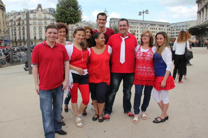 1st Bachata Flash Mob de France