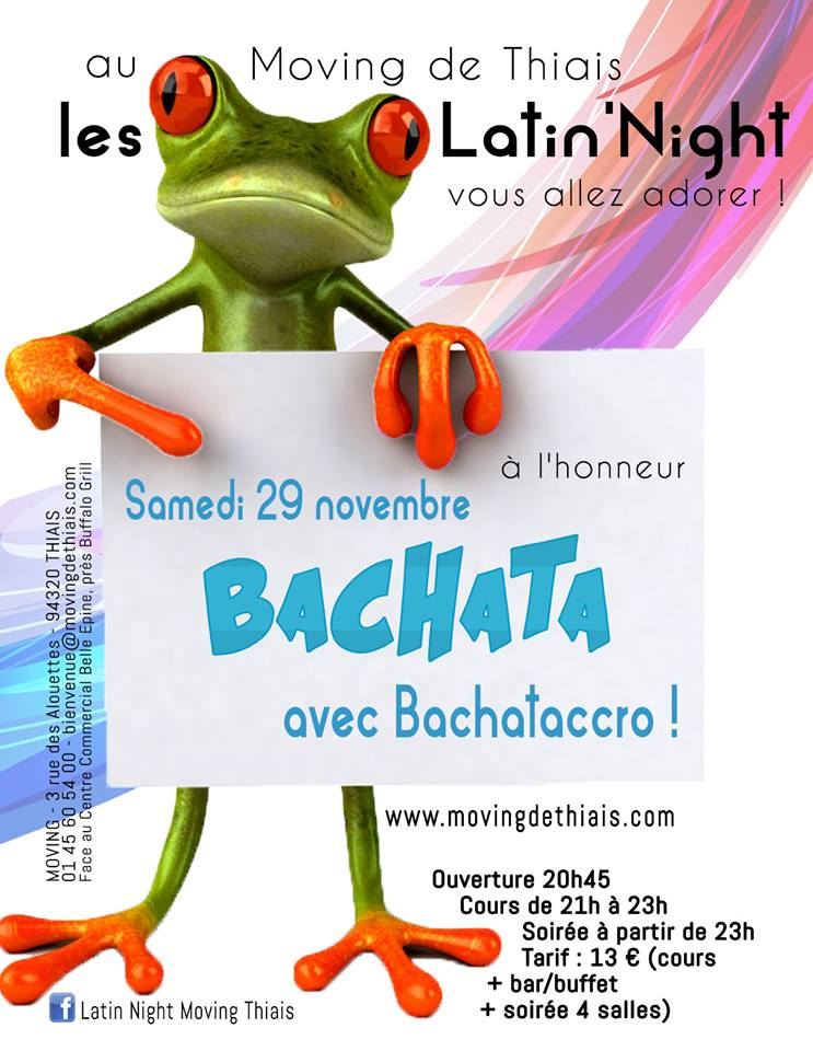 Latin'Night - Moving de Thiais avec BACHATACCRO