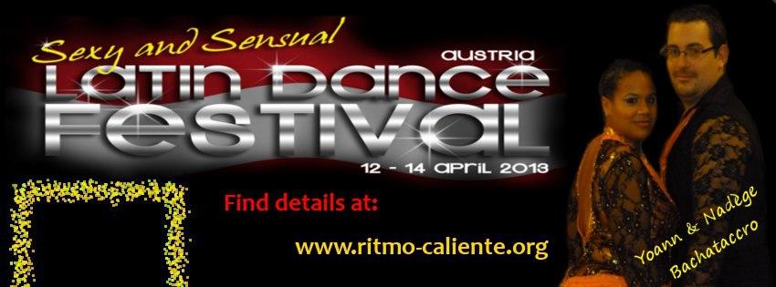 Sexy & Sensual Latin Dance Festival Austria