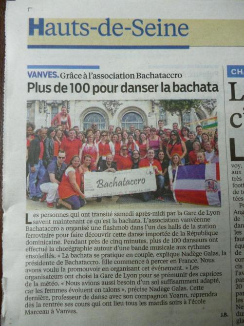 Bachataccro dans le journal